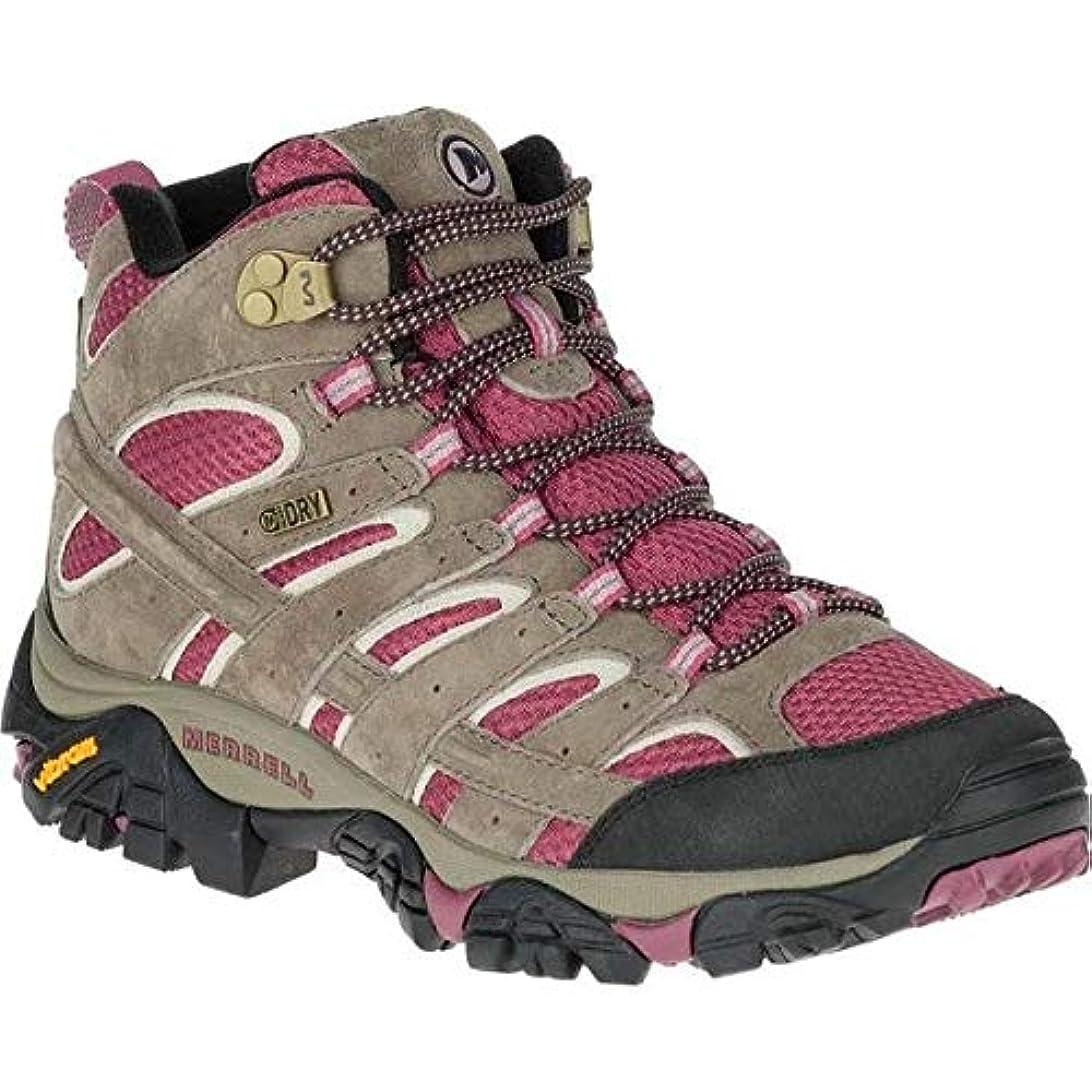 比類なき贅沢集中的な[メレル] レディース ブーツ&レインブーツ Moab 2 Mid Waterproof Hiking Boot [並行輸入品]