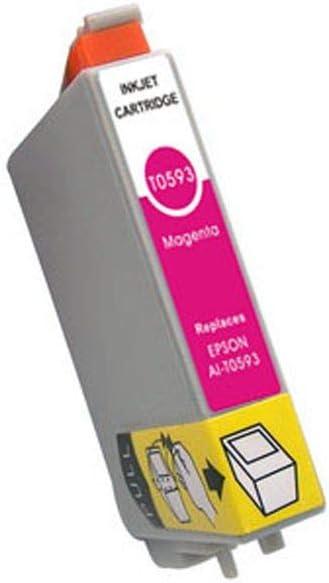 Epson T0597 Tintenpatrone Lilie Singlepack Hell Schwarz Bürobedarf Schreibwaren