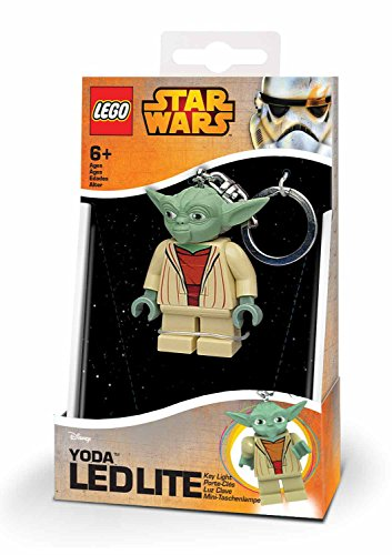 LEGO - Star Wars Yoda, Mini Linterna, 7,6 cm (23070-15)