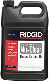RIDGID 70835 Thread Cutting Oil, 1 Gallon of Nu-Clear Pipe Threading Oil