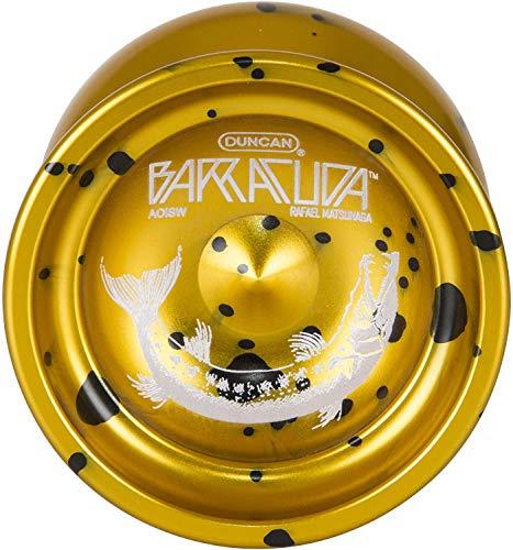 Duncan Barracuda Yoyo-Gold W/Splash