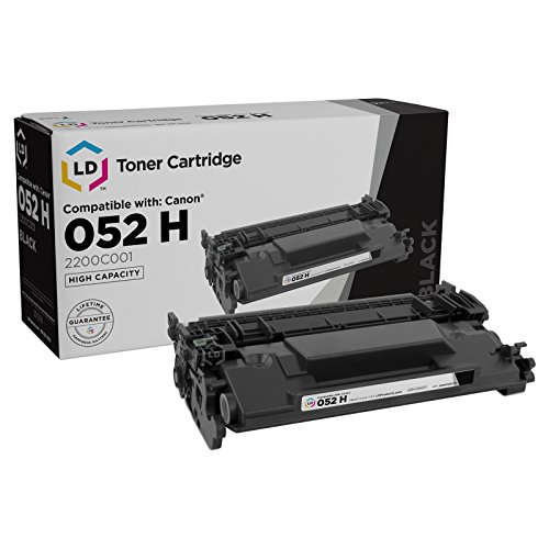 LD Compatible Toner Cartridge Replacement for Canon 052H 2200C001 High Yield (Black)