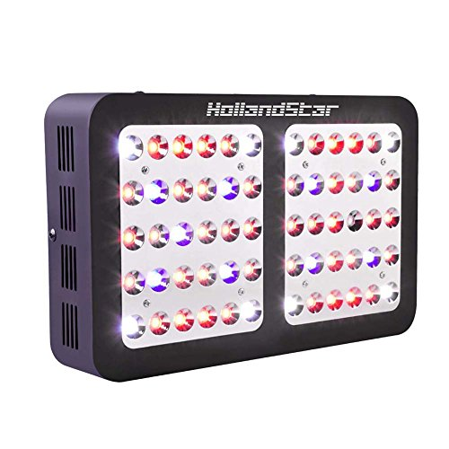 Double Chip 1800 Watt Plant Led Grow Light,Full Spectrum Led Grow Light for Indoor Plants Veg and Flower with 3 Years Warranty HollandStar (R600)