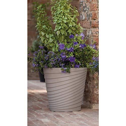 DEROMA Pot Slinky - 25x25x25 cm - 8,7L - Ecume