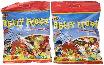 Belly Flops Irregular Jelly Beans  2 - 4.7 Oz Bags