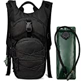 G4Free Hydration Pack Tactical Backpack Rucksack with 3L Water Bladder for Hiking Cycling Biking Running Walking and Climbing
