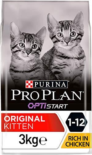 Pro Plan Purina Katzenfutter Junior mit OPTISTART reich an Hähnchen - 3 kg