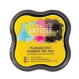 Artiste DOA550124 Pigment Stempelkissen, Perlglanz-Gold Shimmer