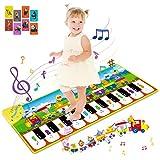 RenFox Alfombra Musical, Alfombra Piano Alfombrilla de Baile...