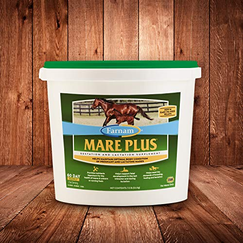 Farnam Mare Plus Gestation & Lactation Supplement 7.5 pounds, 60 Day Supply, Model: 100539411