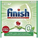 Finish 0 Prozent All in 1 Spülmaschinentabs, phosphatfrei – Geschirrspültabs gegen...