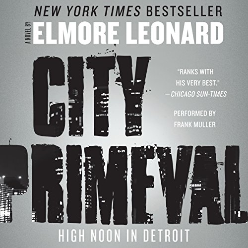 City Primeval audiobook cover art