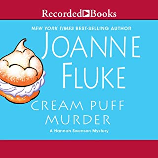 Cream Puff Murder     A Hannah Swensen Mystery              By:                                                                                                                                 Joanne Fluke                               Narrated by:                                                                                                                                 Suzanne Toren                      Length: 9 hrs and 44 mins     411 ratings     Overall 4.1