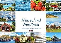 Neuseeland Nordinsel - faszinierende Orte am anderen Ende der Welt (Wandkalender 2022 DIN A2 quer): Die schoensten Staedte und die einzigartige Landschaft der Nordinsel Neuseelands. (Monatskalender, 14 Seiten )