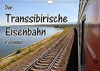 Der Transsibirische Eisenbahn Kalender (Wandkalender 2022 DIN A4 quer): Stationen der Transsib von Moskau zum Baikalsee (Monatskalender, 14 Seiten )