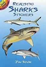 Stickers:   Realistic Sharks Stickers