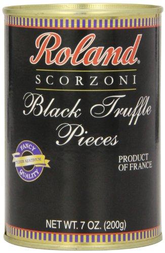 Roland Foods Black Truffle Pieces, 7 Ounce (Best Restaurants Near Pike Place Market)