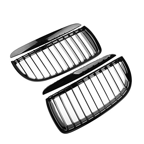 Price comparison product image Left Right Kidney Grille Grill For E90 320i 323i 325xi 330i 328i 328xi 335i 335xi Pre-LCI (Glossy Black)
