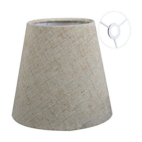 Eastlion 5.5 inch Paralume Tessuto Piccolo E14 Paralumi Lampadari Lampadario e Lampada a Muro,Biancheria