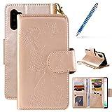 Robinsoni Custodia Compatibile con Samsung Galaxy Note 10 Plus Cover Portafoglio con Cerni...