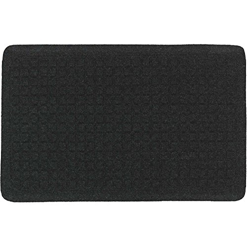 The Andersen Company Get Fit Stand Up Anti-Fatigue Mat, Coal Black, 22' x 32' x 5/8'