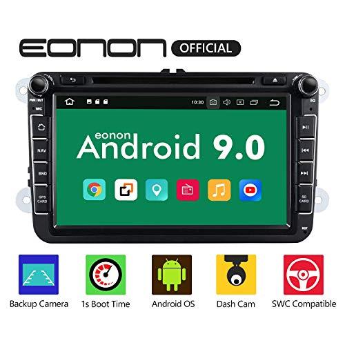 "Autoradio Eonon GA9353 8"" Android 9.0 Pie für Volkswagen Seat Skoda 2GB RAM 32gb ROM"