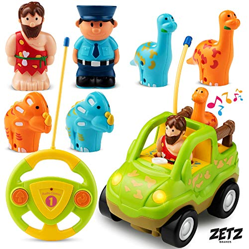 Zetz Brands Remote Control Dino Toy Car...
