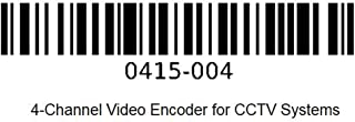 Axis Communications 0415-004 4-Channel Video Encoder for CCTV Systems