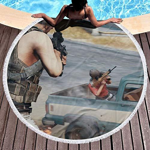 Pubg Bad/Pool/Strandtuch Super weiches und saugfähiges lichtbeständiges Handtuch