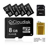 5pcs 8 GB Micro SD-Karte 8 GB MicroSD-Speicherkarte Class10, Großverkauf 5St