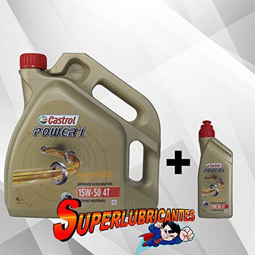 Mundo cohe Castrol Power 1 Racing 4T 10W50 1+4L(5Litros)