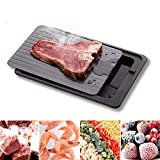 Defrosting Tray for Frozen Meat Fast & Safe Thawing Plate with Drip...