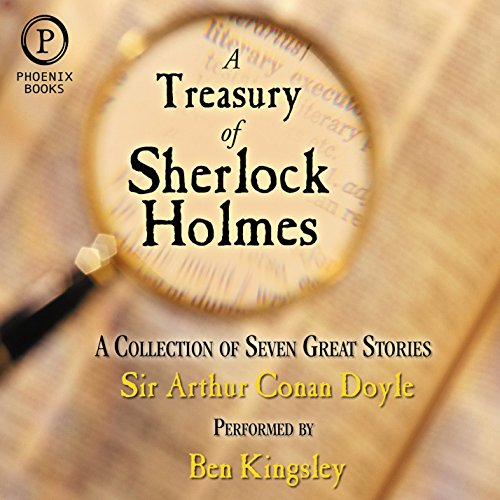 A Treasury of Sherlock Holmes audiobook cover art