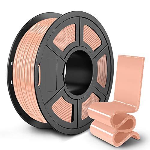 SUNLU PETG 3D Printer Filament, 3D Printing PETG Filament 1.75 mm, Strong 3D Filament, 1KG Spool (2.2lbs), Skin