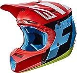 2017 Fox Racing V3 Creo Helmet-Red-L