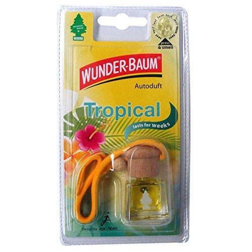 Wunder-Baum 461217/4 Lufterfrischer 4-er Set Duftflakon Tropical