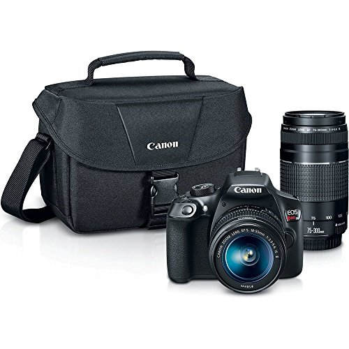 Canon Digital SLR Camera Kit [EOS Rebel T6] with EF-S 18-55mm and EF...