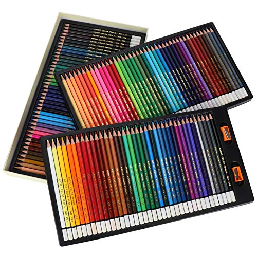 Lápiz hexagonal de 120 colores, 1 caja, lápices de colores, dibujo artístico,...
