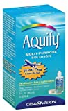 Aquify Multipurpose Solution with Lens Case-3 oz,Travel Pack