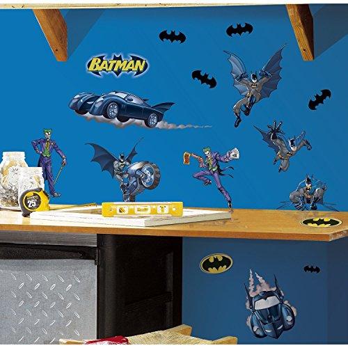 RoomMates RMK1148SCS Batman Gotham Guardian Peel and Stick Wall Decals