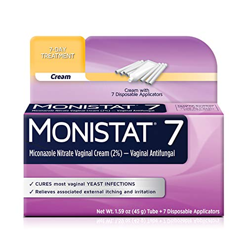 Monistat 7-Day Yeast Infection Treatment   Cream with Disposable Applicators