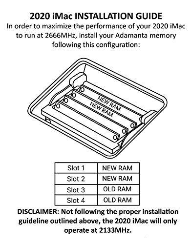 Adamanta 64GB (2x32GB) Genuine Factory Original Memory Upgrade for 2020  Missouri
