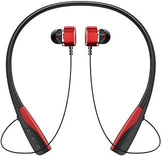 UKCOCO Trådlös halsband hörlurar sport brusreducerande stereohörlurar vattentäta hörlurar brusreducering headset för hemma...
