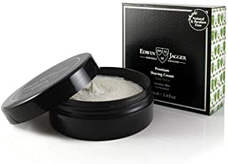 Edwin Jagger 99.9% Natural Premium Shaving Cream, 100ml Tub - Aloe Vera, 3.4-Ounce