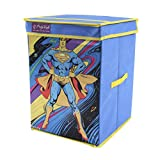 SuperMan Toy Organizer & Storage Box with Top Lid, Foldable Toys organiser, Laundry