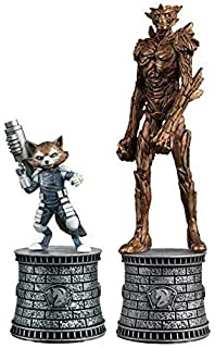Eaglemoss Publications Marvel Chess Figurine Collection Magazine Special #2: Rocket Raccoon and Groot