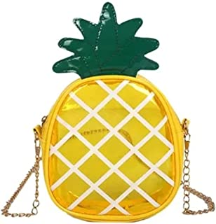 Girl Shoulder Bag Pineapple Shape Crossbody Bag Cute Design for Girl
