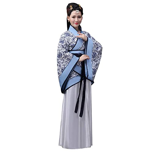 d87cf6a5f Ez-sofei Women's Ancient Chinese Traditional Hanfu Dress Han Dynasty  Cosplay Costume