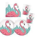 Procos 10118519 Partyset Flamingo