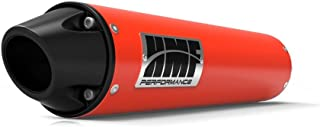 HMF Can-Am Outlander 1000 XMR 2013 - 2016 Can-Am Red/Blk Euro Slip On Exhaust